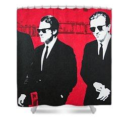 Reservoir Dogs 2013 Shower Curtain by Luis Ludzska