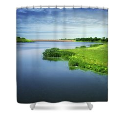 Reservoir Shower Curtain