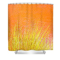 Resolute Reeds Shower Curtain