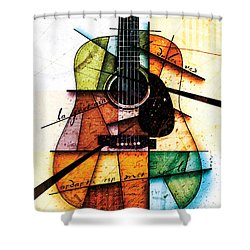 Resonancia En Colores Shower Curtain by Gary Bodnar
