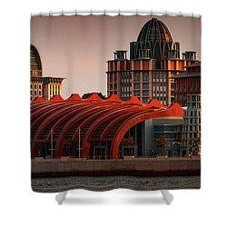 Resort World Sentosa Shower Curtain