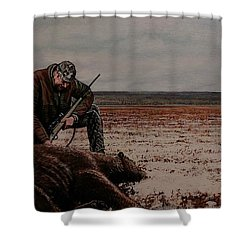 Respectfull Blessing Shower Curtain