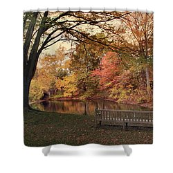 Shower Curtain featuring the photograph Respite River by Jessica Jenney