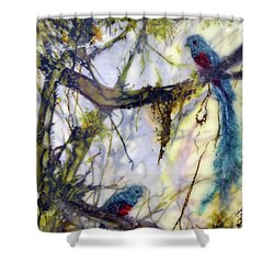 Resplendent Quetzal #2 Shower Curtain