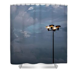Responding To Light 3 -  Shower Curtain