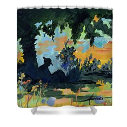 Rest A Minute Shower Curtain