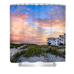 Rest And Relaxation Shower Curtain by David Smith