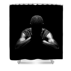 Shower Curtain featuring the photograph Rest by Eric Christopher Jackson