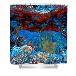 Resting Nature Shower Curtain