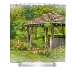 Shower Curtain featuring the photograph Resting Place by Mary Timman