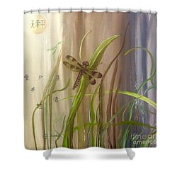 Restoration Of The Balance In Nature Shower Curtain