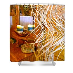 Restorative Beauty Shower Curtain by Randy Rosenberger