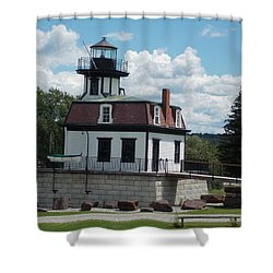 Restored Lighthouse Shower Curtain