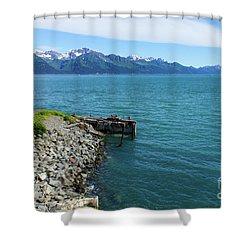 Resurrection Bay Shower Curtain