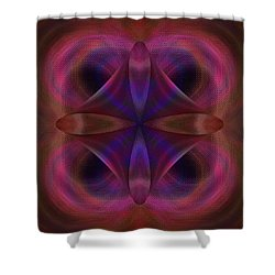 Resurrection Of The Heart Shower Curtain