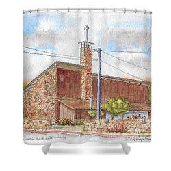 Resurrection Parish Or Zullah, Washington Shower Curtain