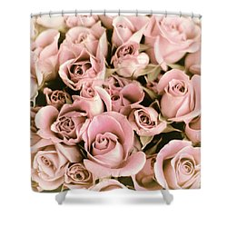Reticent Rose Shower Curtain by Jessica Jenney