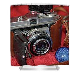 Shower Curtain featuring the photograph Retina by John Schneider