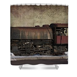 Retired 2 Shower Curtain by Judy Wolinsky