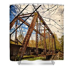 Retired Trestle Shower Curtain