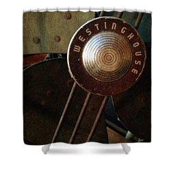 Classic Desk Fan  Shower Curtain by Michelle Calkins