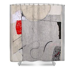 Shower Curtain featuring the painting Retro Feel by Cliff Spohn