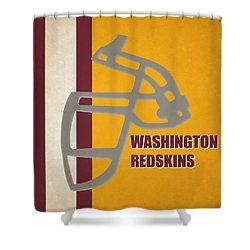 Retro Redskins Art Shower Curtain