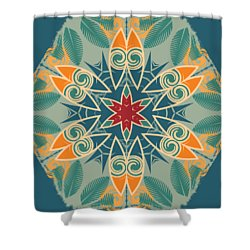 Shower Curtain featuring the photograph Retro Surfboard Woodcut by Mary Machare