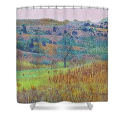 Return Of Green Dream Shower Curtain