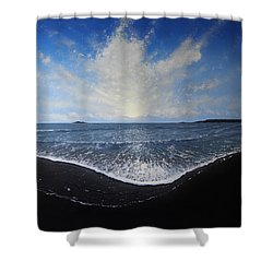 Returning Light Shower Curtain by Paul Newcastle