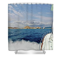 Returning To Port Shower Curtain