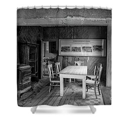 Shower Curtain featuring the photograph Returning To The Past by Sandra Bronstein