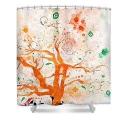 Revelation 22-2 Shower Curtain