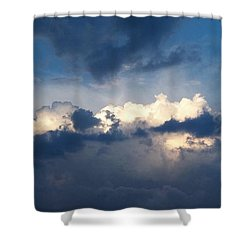 Revelation One-seven Shower Curtain by Glenn McCarthy Art and Photography
