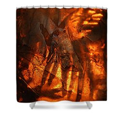 Revelation Shower Curtain by Sami Tiainen