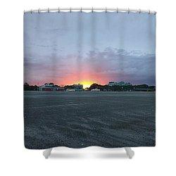 Revere Beach Sunset Shower Curtain
