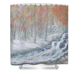Reverence Shower Curtain by Ben Kiger