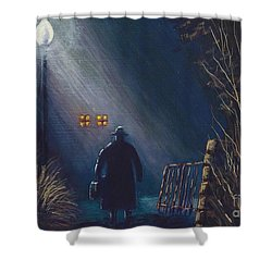 Reverend Hadley Jorgensen Shower Curtain