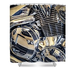 Revved Shower Curtain