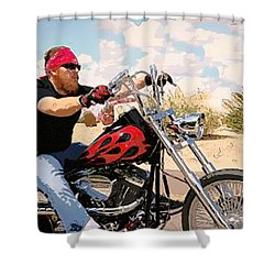 Rey Del Desierto Shower Curtain