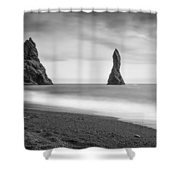 Reynisfjara  Shower Curtain
