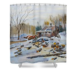 Reynold's Sugar Shack Shower Curtain