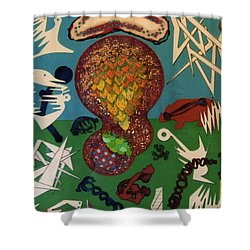 Rfb0126 Shower Curtain