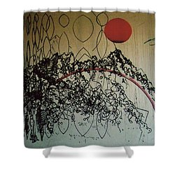 Rfb0208 Shower Curtain