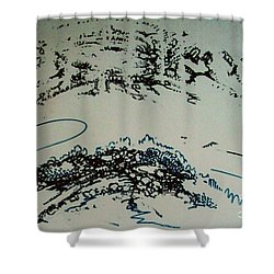 Rfb0210 Shower Curtain