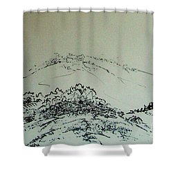 Rfb0211-2 Shower Curtain
