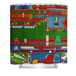Rfb0404 Shower Curtain
