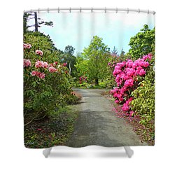 Rhododendron Gardens Shower Curtain