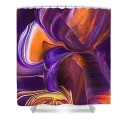 Rhythm Of My Heart Shower Curtain