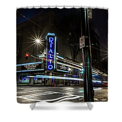 Rialto Theater Shower Curtain